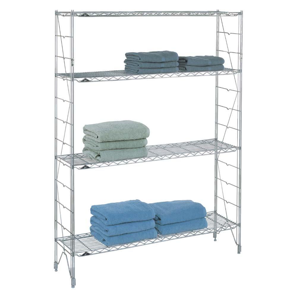 anaqueles metalicos super erecta shelf