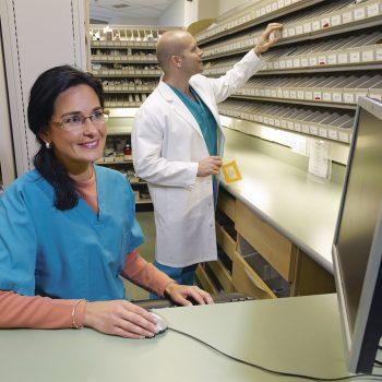 almacenamiento de farmacia servcios para el paciente externo