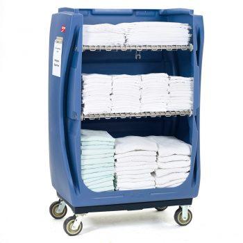 carro de ropa limpia hospitalaria