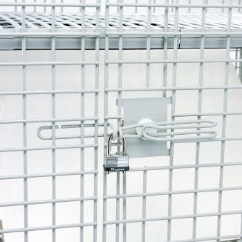 cerradura de estantes de seguridad