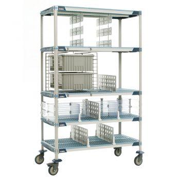 estanteria de polimero metro max i con accesorios