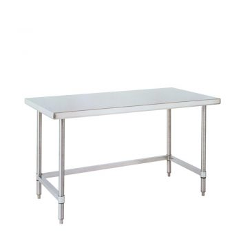 mesa de trabajo uso rudo marco tres lados