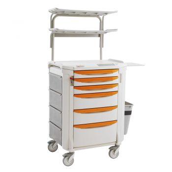 muebles clinicos carro para enyesado flexline