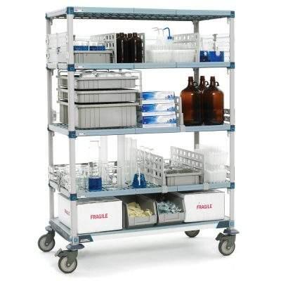 estante metro max q l para laboratorios