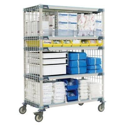 estanteria de polimero metro max i salud
