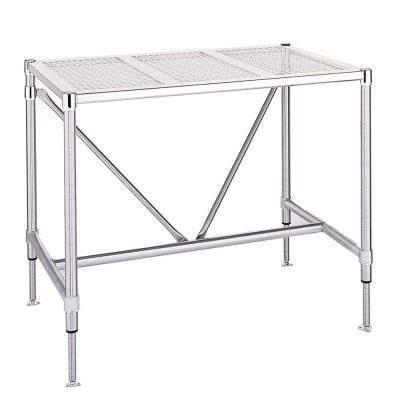 mesas de acero inoxidable para laboratorio