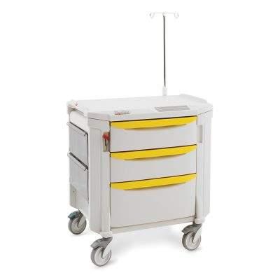 mobiliario clinico carro de aislamiento flexline