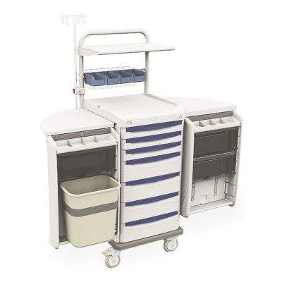 mobiliario clinico hospitalario carro de trauma starsys