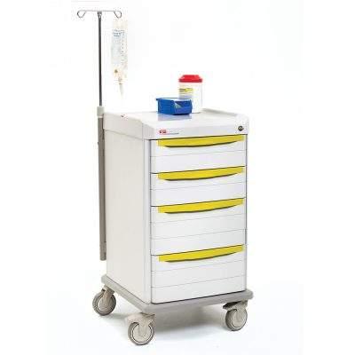 mobiliario hospitalario carro de aislamiento starsys