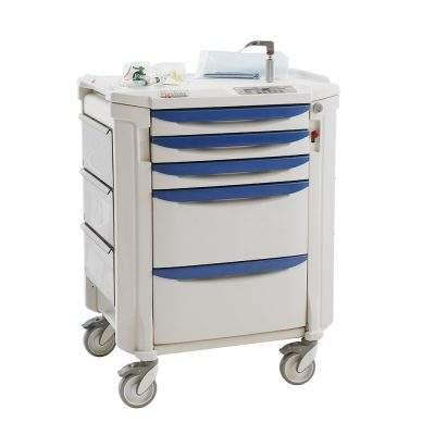 mobiliario medico carro de vias aereas flexline