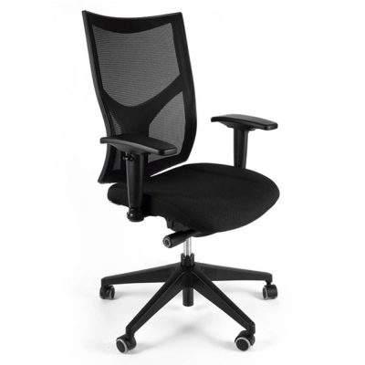 silla ejecutiva de tela