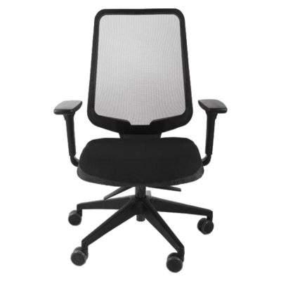 silla ejecutiva tela